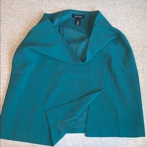 Green White House I Black Market Skirt